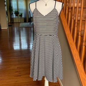 Fit and Flare Stripes
